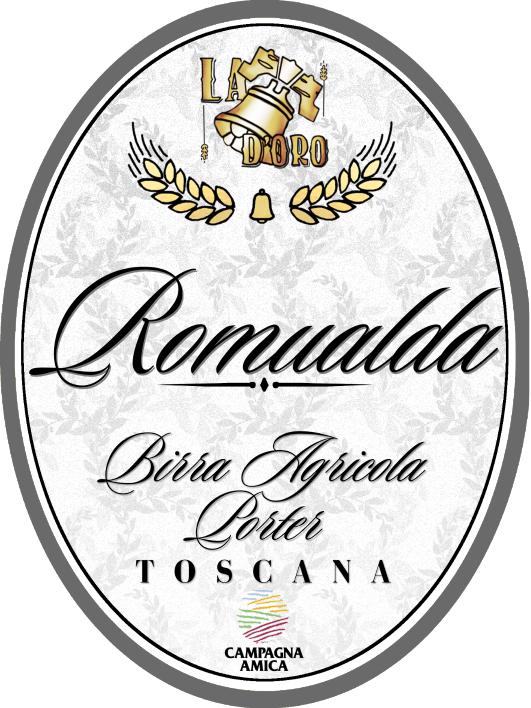 etichetta birra romualda
