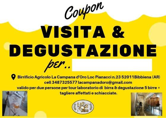 Annuncio coupon Visita&Degustazione